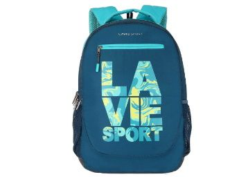 Flat 63% off on Lavie Sport 34 Ltrs Teal School Backpack at Rs. 1070