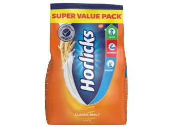 Horlicks Health and Nutrition drink - 750 g Refill Pack (Classic Malt) at Rs. 310