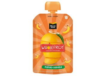 Flat 40% off on Minute Maid Wholefrt Mango Banana Pure Pack of 5 x 100 g at Rs. 149