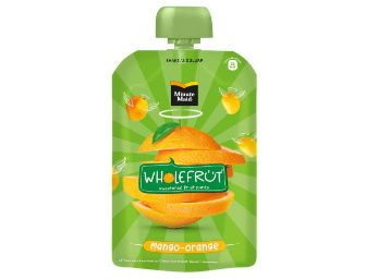 Flat 40% off on Minute Maid Wholefrt Mango Orange Pure Pack of 5 x 100 g at Rs. 149