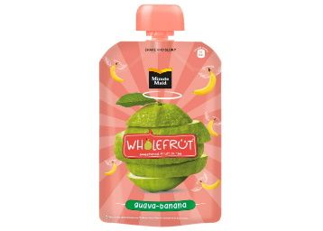 Flat 40% off on Minute Maid Wholefrt Guava Banana Pure Pack of 5 x 100 g at Rs. 149