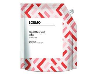 Amazon Brand - Solimo Antibacterial Handwash Liquid Refill- 1500 ml At Rs.199