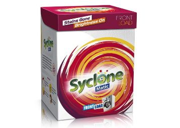 40% off - Syclone Matic Front Load Detergent Powder for Washing Machine, 2kg at Rs. 299