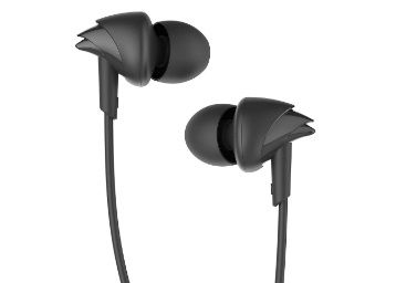 boAt BassHeads 100 in-Ear Wired Earphones with Super Extra Bass at Rs. 369