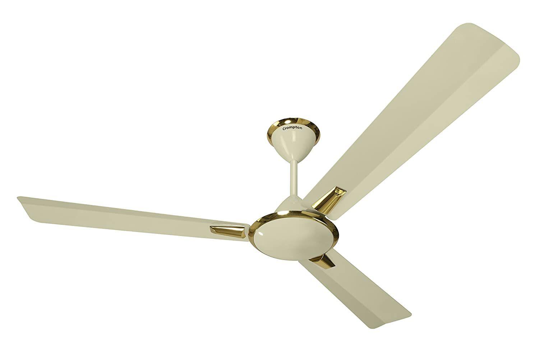 Crompton Aura 48-inch High Speed Decorative Ceiling Fan (Ivory)