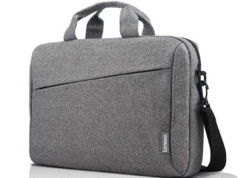 Lenovo Casual Laptop Briefcase T210 (Toploader) 15.6-inch Water Repellent Grey At Rs.699