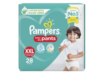 Pampers Diaper Pants, XX-Large, 28 Count at Rs. 531