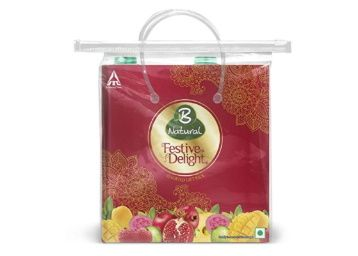 B Natural Juice Festive Delight, Gift of Immunity, 2 L at Rs. 160