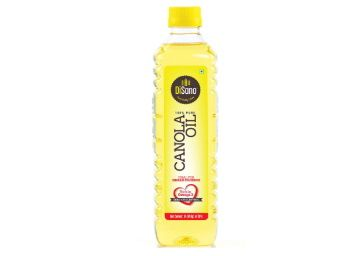 DiSano Canola Oil, for All Cooking Needs, Lowest in Saturated Fat, 1L at Rs. 147