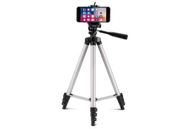PROSmart Aluminium Adjustable Portable and Foldable Tripod Stand at Rs. 317