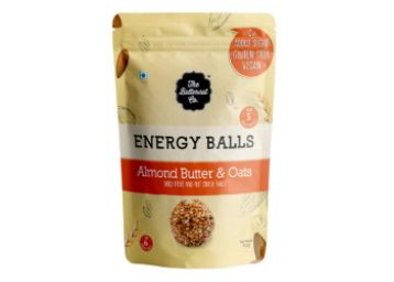 The Butternut Co. Energy Balls Almond Butter & Oats - Dates, Dried Fruit & Nut Snack Balls 288g (Pack of 6) at Rs. 375