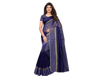 Satrani Cotton Saree with Blouse Piece