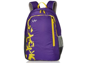Skybags Brat 07 Purple 25 ltrs Casual Backpack