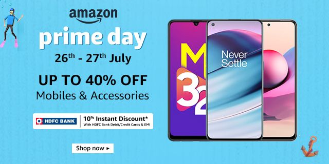 Up to40% off on mobiles & accessories