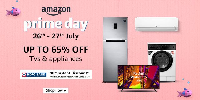 Up to 65% off | TVs & Appliances and Accessories