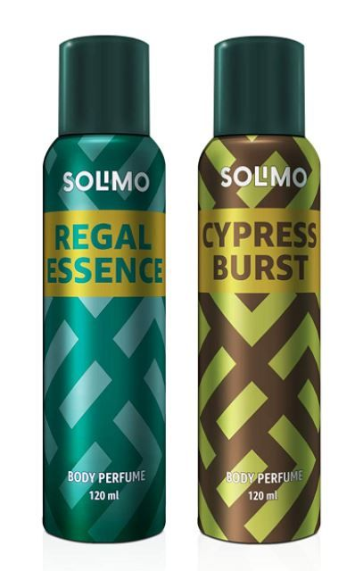 Amazon Brand - Solimo No Gas Deodorant - Pack of 2 at Rs.179