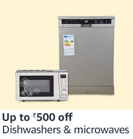 Dishwasher & microwaves