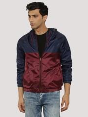 KOOVS Contrast Light Weight Jacket