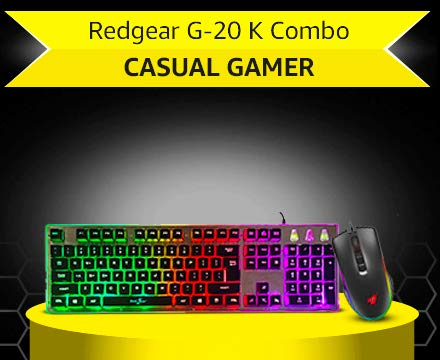 Redgear G-20 Keyboard and Mouse Combo