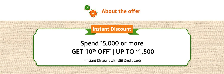 SBI credit card Offer