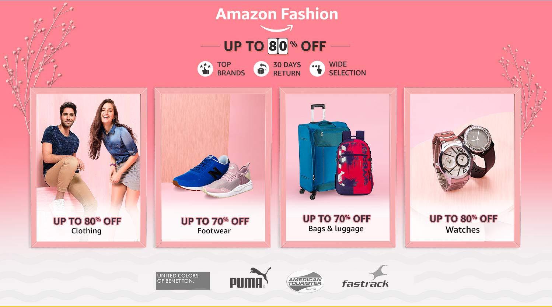 Amazon Fashion: Up to 80% off