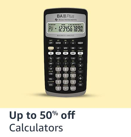 Calculators - Upto 50% Off