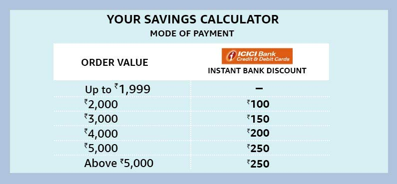 Saving calculator