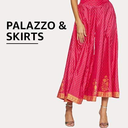 Plazzo & Skirts