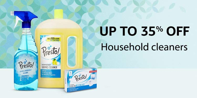 Up to 35% off: Household cleaners