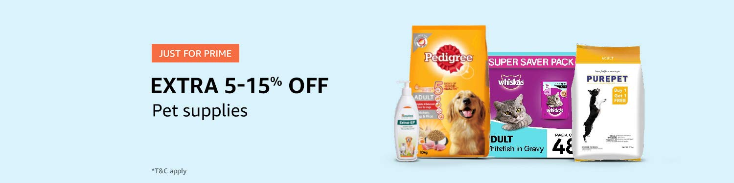 Prime deals in Pet products