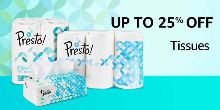 Up to 25% off: Tissues