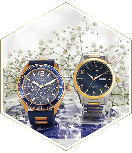 Dual-Tone Watches