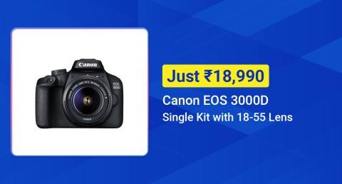 Canon 3000D Top deal-BSD - English
