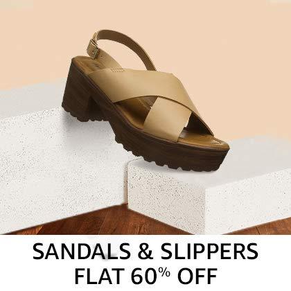 Women's sandals Flat 60% Off