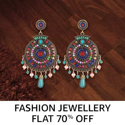 Fashion jewellery Flat 70% Off