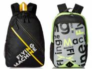 Flying Machine Backpacks Starts From Rs.394 + Free Shipping