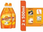 Skrubble Dish Wash Liquid (500ml X 2) at Just Rs. 145