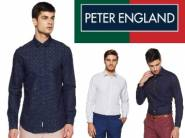 Min. 50% OFF on Peter England Shirts From Rs.439 + Free Shipping