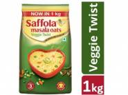 Apply 50% Code: Saffola Masala Oats, Veggie Twist, 1 kg at Rs.225