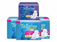 FREE 7 Pads: Stayfree XL Sanitary Pads (30 Count) at Rs. 184