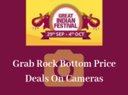 Grab Rock Bottom Price Deals On Cameras