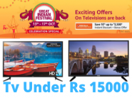 Best Deals on Television Deals Under Rs 15,000 + ICICI Bank Discount + Exchange Offers