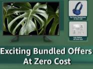 Bundle Offer on Sony Television - Get Headphone and Smart Plug at Zero Cost