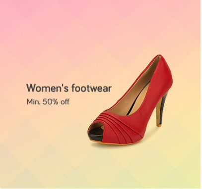 d7647a2096c Snapdeal Footwear Sale - Minimum 50%-90% Off Women Footwear at ...
