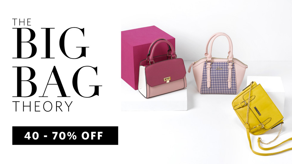 e8a9aaf735 The Big Bag Theory - 40% - 70% Off on Branded Bags at dealcorner.in ...