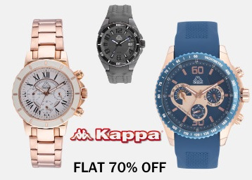 a2aaad1b26b Unique Collection:- Kappa Watches at Flat 70% OFF + Free Shipping ...