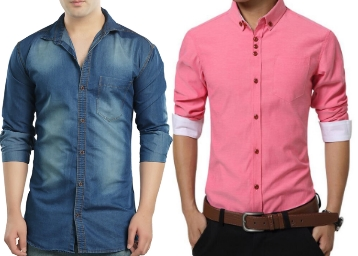 daf380ff19833 Buy Men's Casual Shirts At Rs.139 Only with Free Shipping at ...